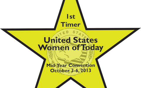 United States Women of Today First Timer Badges